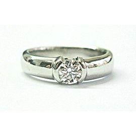 Tiffany & Co Platinum Etoile Diamond Engagement Ring .55Ct G-VVS2