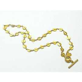 Yossi Harari Necklace 24KT Necklace 16""