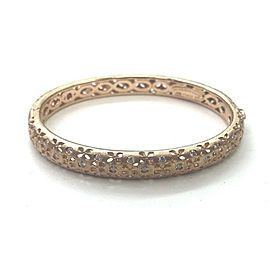 Roberto Coin 18KT Granada Diamond Rose Gold Bangle .60CT