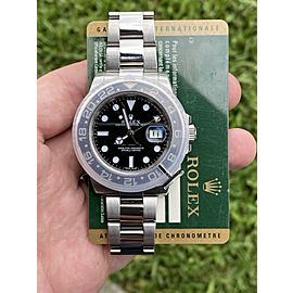 Rolex GMT-Master II 116710LN Black Ceramic Watch With Card 2013