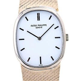 Patek Philippe Geneve 3548 Ellipse with White Dial 28MM