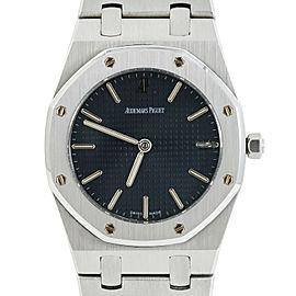 Audemars Piguet Royal Oak 56203ST Blue Dial SS Men's Watch 34MM