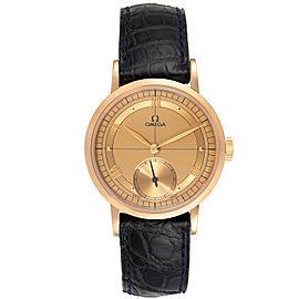 Omega Renaissance 1894 18k Rose Gold Limited Edition Mens Watch 5950.30.03