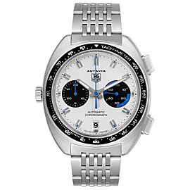 Tag Heuer Autavia Automatic Chronograph Steel Mens Watch CY2110