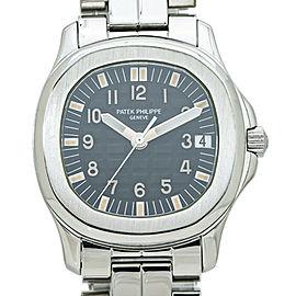 Patek Philippe Aquanaut 5066A BlackTropical Dial Automatic Watch 2000 Box& Paper