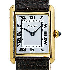 Cartier Tank Louis Cartier 077467 18K Hand Winding Watch 23MM