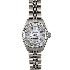 Rolex Datejust 26mm 6916 Women's Stainless Steel Automatic White MOP 1YrWarranty