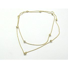 """Cartier Love Knot LONG Necklace 18Kt Yellow Gold 40"""""""
