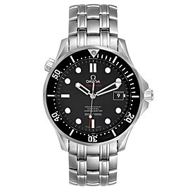 Omega Seamaster Black Dial Steel Mens Watch 212.30.41.20.01.002