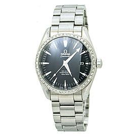 Omega Seamaster Aqua Terra Co-axial 2503.50 Automatic Diamond Bezel Watch 39MM