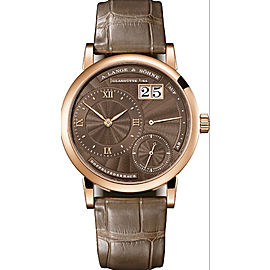 A.Lange & Sohne Littel Lange1 181.037 18K Rose Brown Dial Watch 37mm Box&Papers