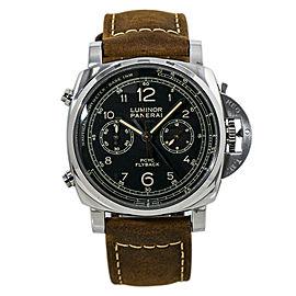 Panerai Luminor Flyback PAM00653 Chronograph Automatic Mens Watch Box&Paper44MM