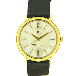 Hamilton 14k Yellow Gold Vintage Thin-o-matic Manual Wind Watch
