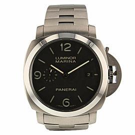 Panerai Luminor Marina Titanium PAM00352 Men's Automatic Watch With Box 44MM
