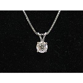 Pretty 1.30Ct Round Cut Ruby /& Diamond 14K White Gold Over Exclusive Pendant