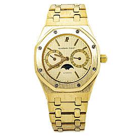 Audemars Piguet Royal Oak 25594.BA.0.0477.BA.01 Mens Automatic Watch 18K YG 36mm