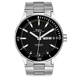 Ball Roadmaster BMW Timetrekker Black Dial Steel Mens Watch DM3010B