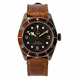 Tudor Heritage Black Bay 79250BM Men Auto Brown Dial Bronze Watch W/B&P 43mm