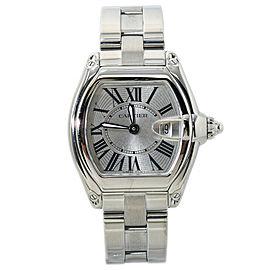 Cartier Roadster 2675 Stainless Steel Ladies Quartz Watch 31MM