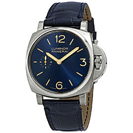 Panerai Luminor Due PAM00728 Blue NEW Mens Automatic Watch 41mm Box & Papers