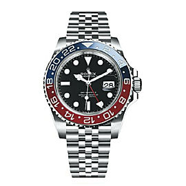 Rolex GMT-Master II 126710BLRO Mark 1 Pepsi Ceramic Mens Watch 40mm 2020 Card