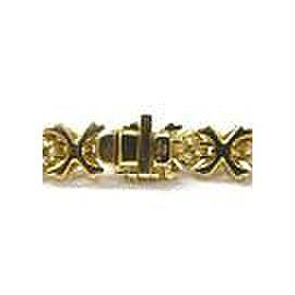 Tiffany & Co 18Kt Signature Diamond X Bracelet Yellow Gold 3.00CT