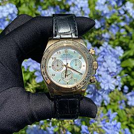 Rolex 116518 Daytona 40mm 18k Yellow Gold Mother of Pearl Watch