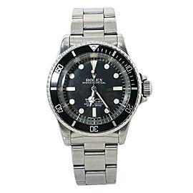 Rolex Vintage Submariner 5512 5.4 Million Serial Matte Dial 4 Liner Watch 40mm