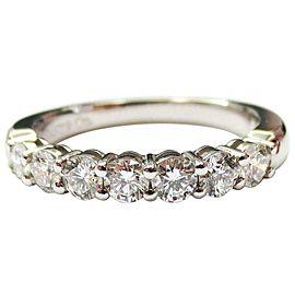 Tiffany & Co Embrace 3mm 0.57ct Round Diamond Platinum Eternity Wedding Band