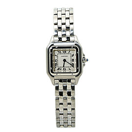 Cartier Panthere 1320 Stainless Steel White Dial Ladies Watch 22MM