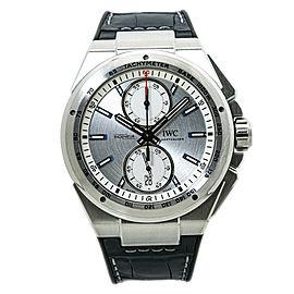 IWC Ingenieur Chronograph Racer IW378509 Silver Dial Men Watch
