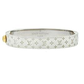 Louis Vuitton Nanogram Cuff Monogram Bracelet Small