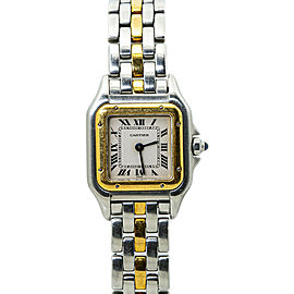 Cartier Panthere 1120 18kSingle Row Two-Tone Ladies Watch 22MM