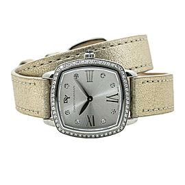 David Yurman Albion T932-M Wraparound Factory Diamond Silver Dial Watch 27mm