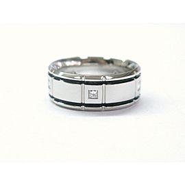Platinum Verragio Princess Cut Diamond Band Ring .25Ct Size 7.25