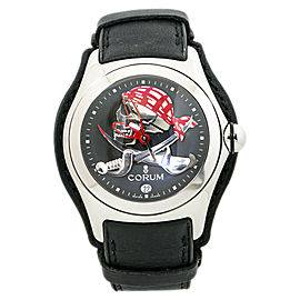 Corum Bubble 082.150.20 Privateer Skull Collector Series Limited Watch 45mm