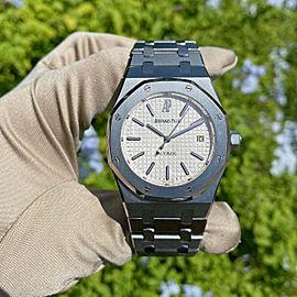 Audemars Piguet Royal Oak 15300ST 39mm Stainless Steel Watch White