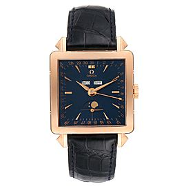 Omega Museum Collection 1951 Cosmic 18k Rose Gold Mens Watch 5701.80.03