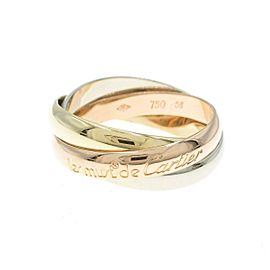 Cartier 18K Pink Gold/18K Yellow Gold/18K White Gold Trinity ring TkM-189