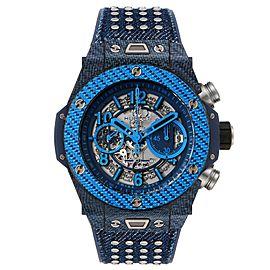 Hublot Big Bang Unico Carbon Chronograph Mens Watch 411.YL