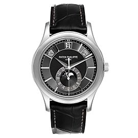 Patek Philippe Complications Annual Calendar White Gold Watch 5205