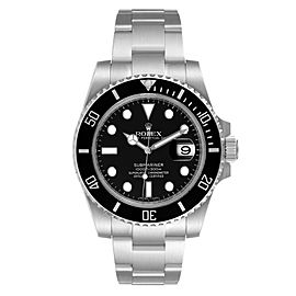 Rolex Submariner Ceramic Bezel Steel Mens Watch 116610