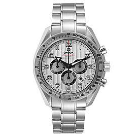 Omega Speedmaster Broad Arrow Silver Dial Steel Watch 321.10.44.50.02.001