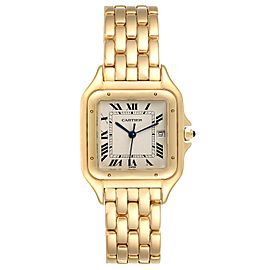 Cartier Panthere XL Blue Sapphire Yellow Gold Unisex Watch W25014B9