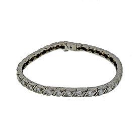 Platinum with 2.00ct Diamond Bracelet