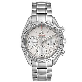 Omega Speedmaster Date Silver Dial Steel Mens Watch 323.10.40.40.02.001