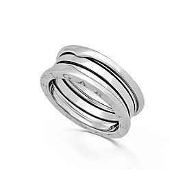 Bulgari B-Zero 1 18K White Gold 3-Band Ring Size 11.25