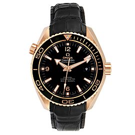 Omega Seamaster Planet Ocean 18k Rose Gold Watch 232.63.46.21.01.001 Unworn