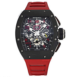 Richard Mille Felipe Massa RM011 42mm Mens Watch