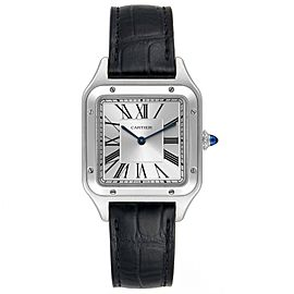 Cartier Santos Dumont Large Steel Mens Watch WSSA0022